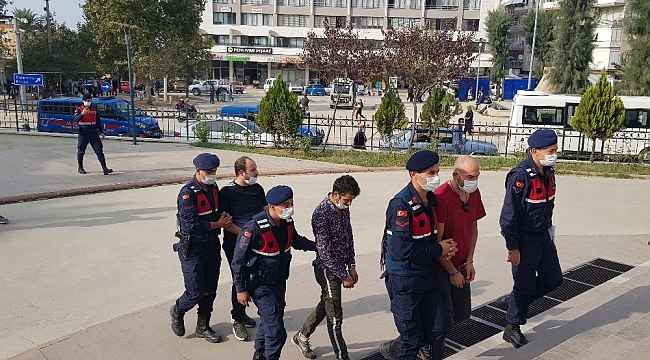 Bin adet uyuşturucu hap ile yakalanan 4 kişi tutuklandı