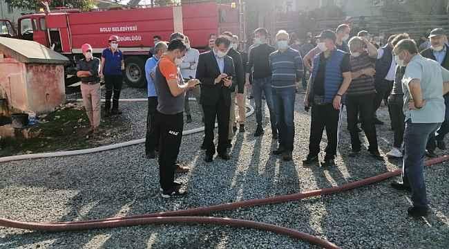 Bolu Valisi Ahmet Ümit'ten yangın açıklaması: