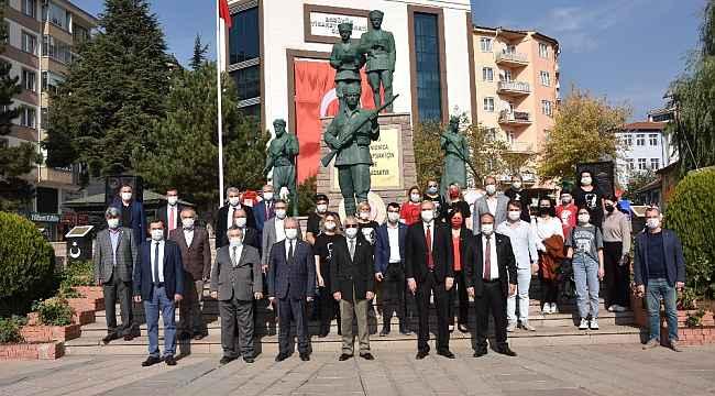 Bozüyük'ten Cumhuriyet'in ilanının 97'inci yıl dönümünü kutlandı