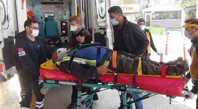 Bursa'da demir ustası ölümden döndü - Bursa Haberleri
