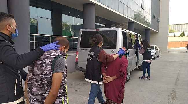 Bursa'da yapılan uyuşturucu operasyonunda 7 gözaltı