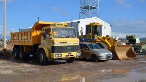 Bursa'dan Balıkesir'e araç desteği