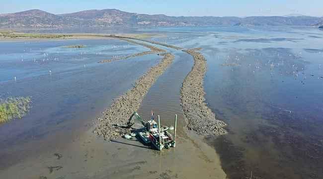 Büyükşehir kanalı açtı, Bafa Gölü nefes oldu