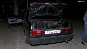 Çaldığı otomobille yakalanan hırsız tutuklandı