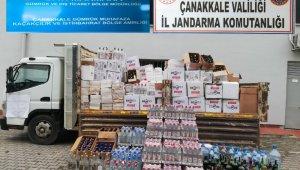 Çanakkale'de kaçak içki operasyonu:5 gözaltı