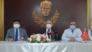 Covid-19 aşısının denemeleri Ankara Üniversitesi'nde de başladı