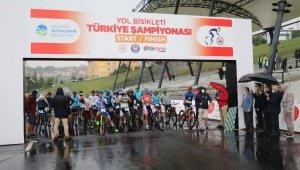Dağ Bisikleti Maraton Dünya Şampiyonası'nın test yarışları başladı