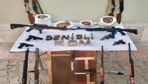 Denizli'de silah kaçakçılarına operasyon:7 gözaltı