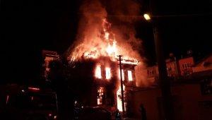 Denizli'de tarihi konaktaki yangınla ilgili yakalanan şahıslar serbest bırakıldı
