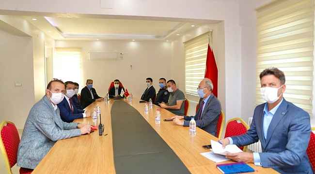 Didim'de İlçe Umumi Hıfzısıhha Meclisi toplandı