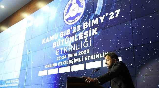 """Dijital Dönüşüm Ofisi Başkanı Koç: """"Açık devlet verisine yönelik veri yönetimi prosedürleri, yasal ve idari düzenleme altyapıları ve rehberlik dokümanlarının hazırlanması çalışmaları devam ediyor"""""""
