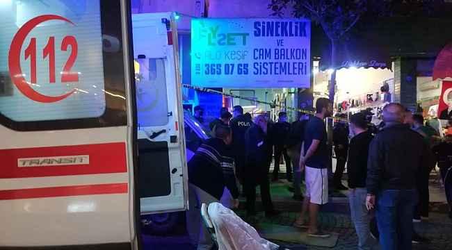 Dükkanda silahlı saldırıya uğrayan bir kişi yaşamını yitirdi