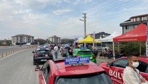 Düzce'de 500 Sürücü adayı sınava girdi