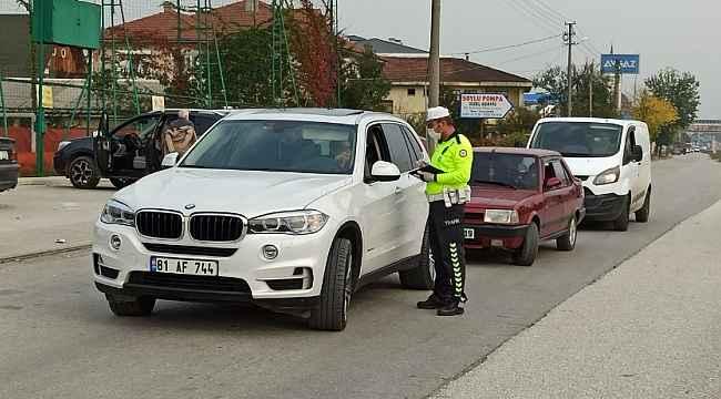 Düzce'de artan trafik kazaları ekipleri harekete geçirdi