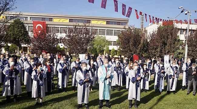 Ege Üniversitesinde Cumhuriyet Bayramı töreni