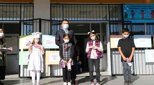 Erciş'te çocuklar için korona virüs farkındalık etkinliği