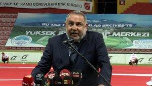 """Erciyes Anadolu Holding CEO'su Ertekin: """"Biz, Kayserispor'a destek verdik"""""""