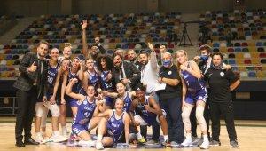 EuroLeague Kadınlar: Aluinvent DVTK Miskolc: 68 - İzmit Belediyespor: 85