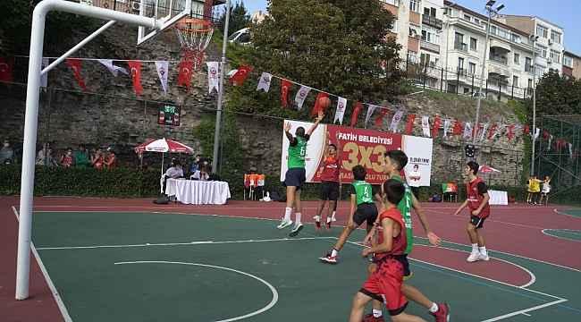 Fatih'te 7'inci sokak basketbol turnuvası başladı