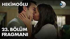 Hekimoğlu 23. bölüm fragmanı - Kanal D ve YouTube izle! Zeynep, Emre'yi öpüyor.