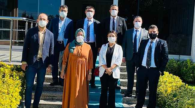 İBB'nin ve İzmit Belediyesi'nin AB heyetleri bir araya geldi