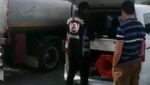 """İstanbul trafiğinde """"pes"""" dedirten görüntüye para cezası"""