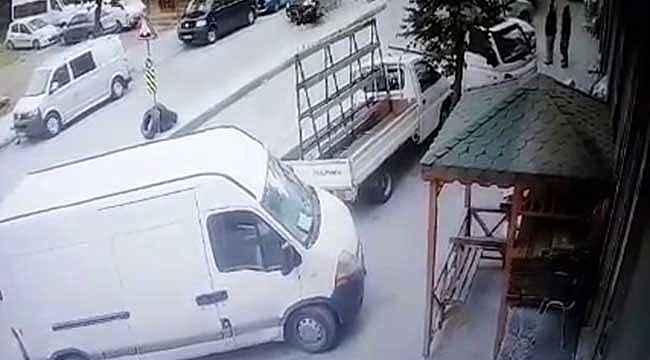 İstanbul'da feci kaza: Ölümden kıl payı kurtuldular