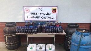 Jandarma ekipleri sahte alkol yapanlara göz açtırmadı