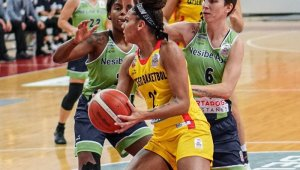Kadınlar Basketbol Süper Ligi: Bellona Kayseri Basketbol: 62 - Nesibe Aydın Basketbol: 70