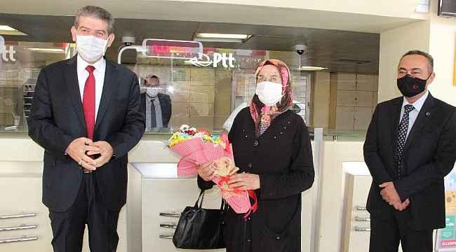 Karaman'da PTT'nin 180. kuruluş yıl dönümü kutlandı
