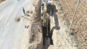 Karaman'da yağmursuyu ve kanalizasyon hatlarının yapımı tamamlandı