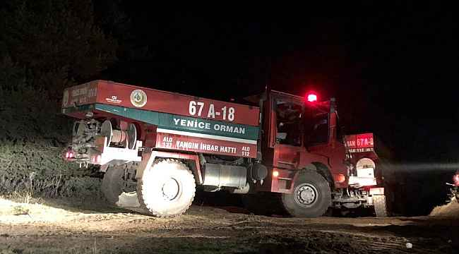 Kastamonu'da ormanlık alanda çıkan yangın güçlükle kontrol altına alınabildi