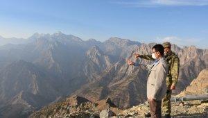 Kaymakam Doğramacı'dan üs bölgelerine ziyaret