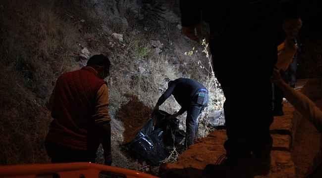 Kayseri'de dehşet; başına taşla vurup öldürdü, kayalıklardan atıp üzerini taşla örttü