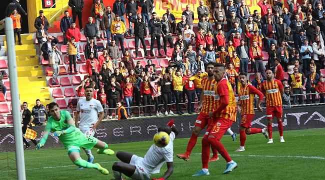 Kayserispor ile Sivasspor 27.randevuda