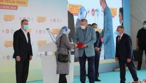 Kocasinan'da kentsel dönüşüm projeleri mutluluğa dönüşüyor