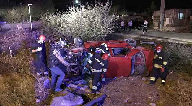 Konya'da 2 otomobil çarpıştı: 9 yaralı