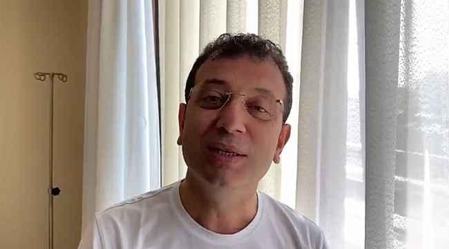 Korona virüse yakalanan İmamoğlu'ndan ilk açıklama