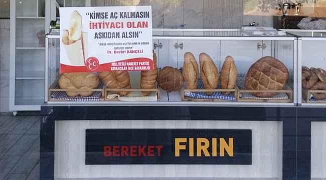 Kovancılar'dan askıda ekmek kampanyasına destek