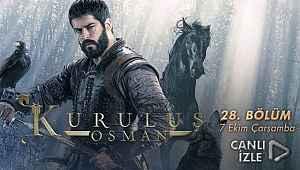 Kuruluş Osman 28. Bölüm izle – (son bölüm full) - 7 Ekim 2020 - ATV