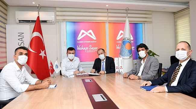 Mersin Büyükşehir Belediyesi doğalgazla çalışan 73 otobüs alıyor