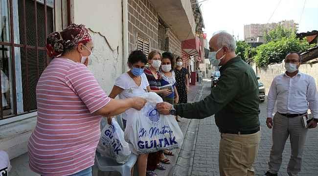Mersin'de sağlık için 25 ton narenciye dağıtıldı