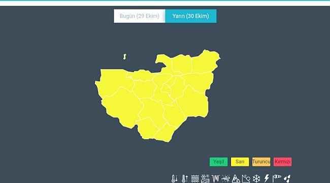 Meteoroloji'den Bursa için son dakika uyarısı - Bursa Haberleri