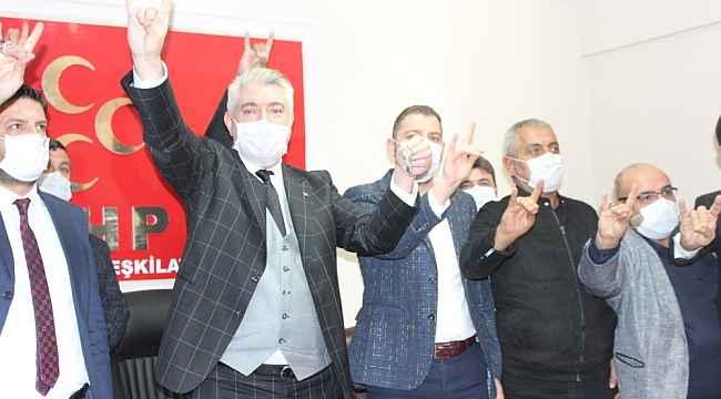 "MHP İl Başkanı Tok, ""Bozkurt bizim, otağ bizim, Erciyes bizim"""