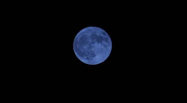 """""""Mavi Ay"""" İskenderun'da görsel şölen oluşturdu"""