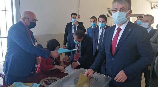 Şaban Çopuroğlu yeniden Başkan