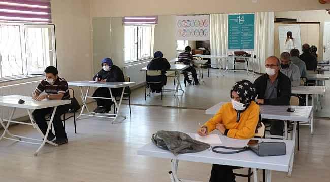 Safranbolu'da 12 kursiyere 'Örtü Altı Sebze Yetiştiriciliği' eğitimi