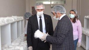 Sağlık Bakanlığı için 100 milyon maske üretildi.