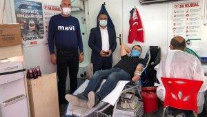 Sağlık-Sen Şırnak Şubesinden kan bağış kampanyasına destek