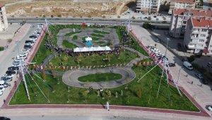 Selçuklu'da bisiklet ve kaykay parkı açıldı